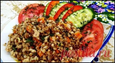 Вкусное приготовление гречки по-флотски (когда запасы гречки деть уже некуда)!