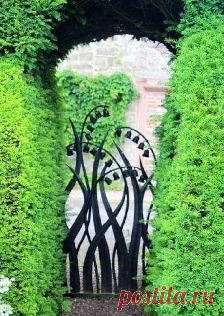 Красивые кованые ворота со всего мира: идеи — Сделай сам, идеи для творчества - DIY Ideas