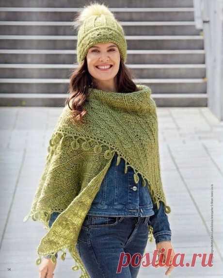 Модные аксессуары - шаль, шарф, шапки связанные крючком | Вязание | Яндекс Дзен