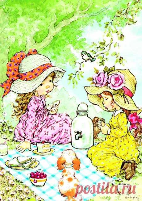 Воспоминания о детстве... Художница Sarah Kay. .