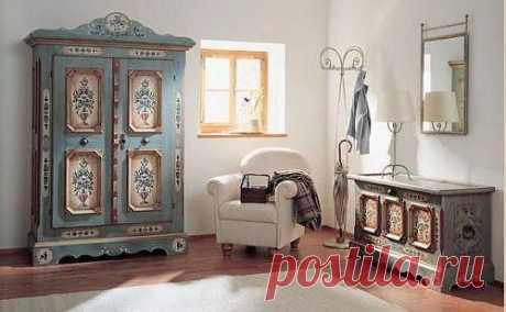 Декорирование мебели в стиле винтаж. Создаем оригинальные предметы интерьера