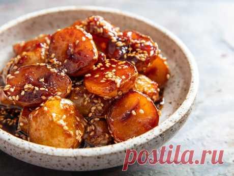 Картошка по-корейски: в отличие от морковки, ее в Корее действительно едят | Соль | Яндекс Дзен