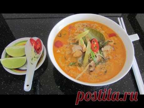 Как готовить тайский суп Том Ям [LudaEasyCook]