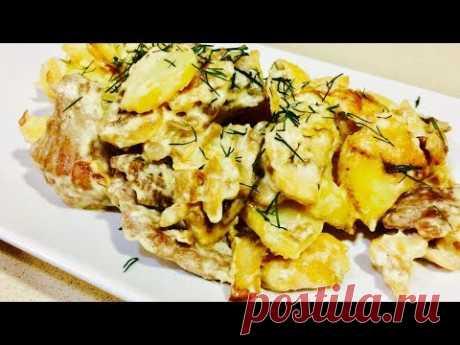 """Старинное мясное блюдо русской кухни """"Скоблянка"""" Рецепты вторых блюд. Это очень вкусно."""