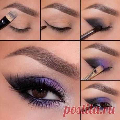 Пошаговые уроки макияжа в картинках