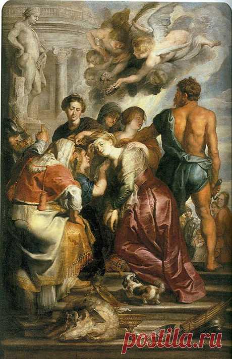Мученичество святой Екатерины. Питер Пауль Рубенс. Описание картины, скачать репродукцию.