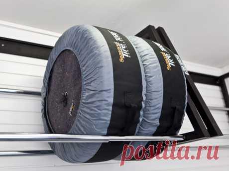 El soporte para el almacenaje de los neumáticos, las ruedas, el caucho en el garaje | GarazhTek - GarageTek - el arreglo del garaje, el sistema del almacenaje para los garajes