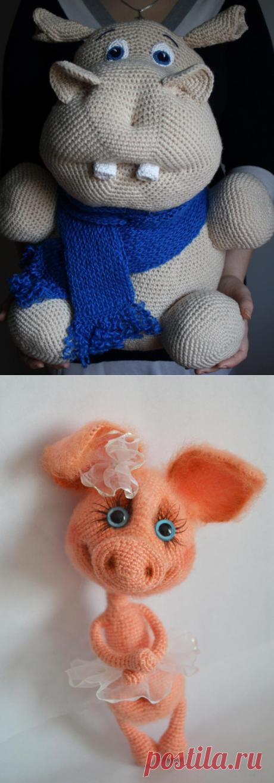 Вязание игрушек - 90 фото для начинающих как связать игрушку для детей разных возрастов