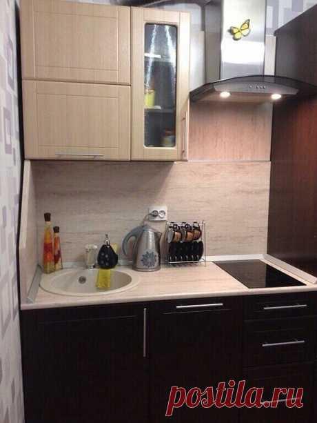 Мини-кухня со всем необходимым | КVАРТИРА | Яндекс Дзен