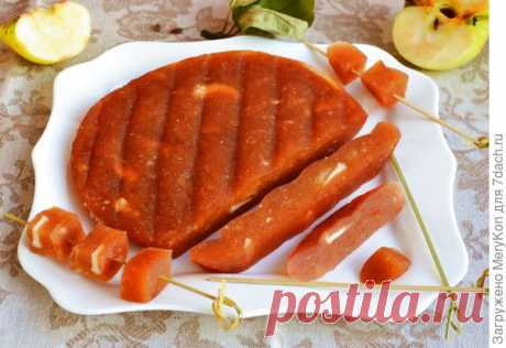 Яблочный сыр из Антоновки. У него один недостаток - мгновенно заканчивается