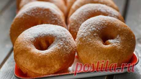Пончики - рецепты простые в домашних условиях с фото