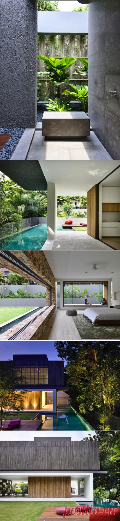 Необыкновенный роскошный дом в Сингапуре — Роскошь и уют