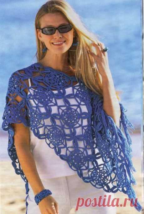 1283 - шарфи, шалі, палатини - В'язання для жінок - Каталог статей - Md.Crochet