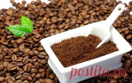 Как избавиться от грибка при помощи кофе