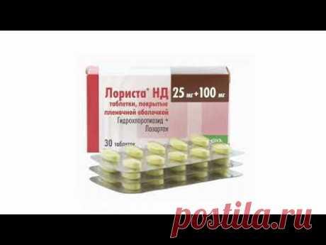 Таблетки от давления «Лориста»