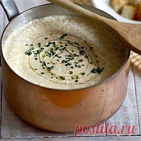 Крем-суп из шампиньонов рецепт – супы