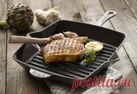 Кухонные хитрости: как готовить на сковороде-гриль — Полезные советы