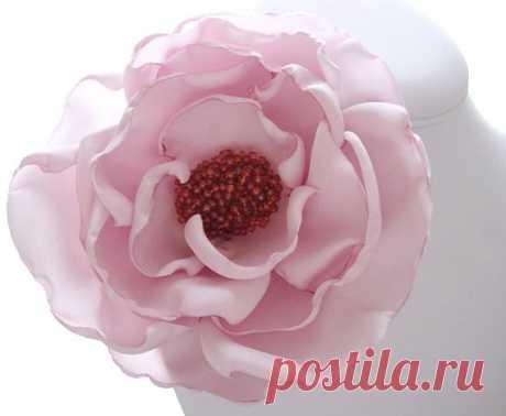 Для вдохновения, цитатник: Цветы и украшения из ткани. Часть 3.