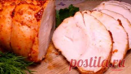 Куриная пастрома вместо колбасы - Лучший сайт кулинарии