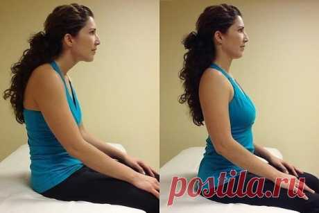 5 simple exercises from neck pain — Always in shape!