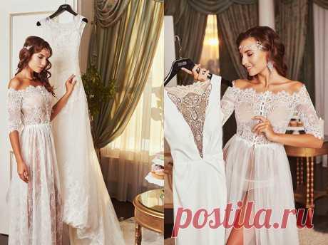 Как подготовиться к примерке свадебного платья?