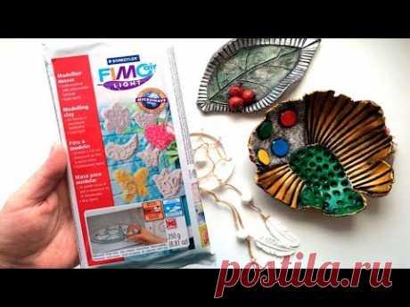 Обзор самозастывающей глины Fimo air light - YouTube