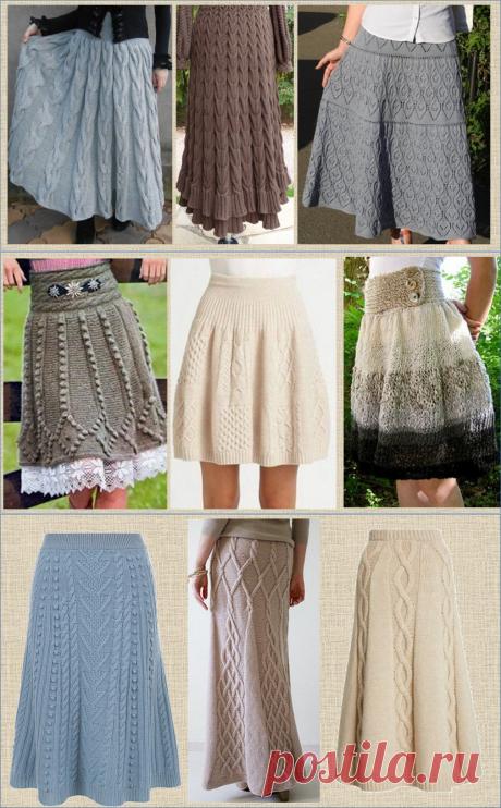 Cвязать зимнюю юбку. Какой она должна быть? Рассмотрим 35 вариантов разных моделей