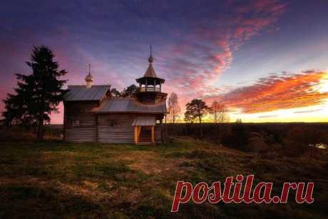 Деревня Маньга, Карелия. Автор фото: Андрей Базанов.