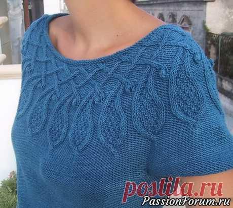 Кофточка Веджвуд - запись пользователя Nataliya55 (Наталия) в сообществе Вязание спицами в категории Вязание для женщин спицами. Схемы вязания спицами