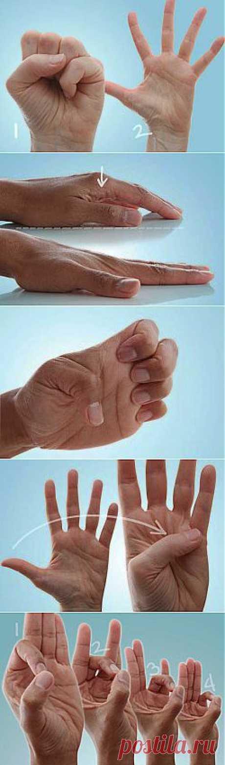 10 упражнений для пальцев рук при артрозе, артрите. .