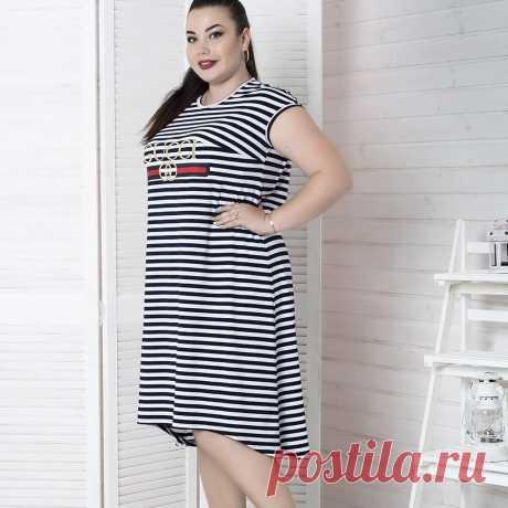 6d7c655b88bc1e Одежда больших размеров 48-82 в Instagram: «Летнее платье большого размера « Марина