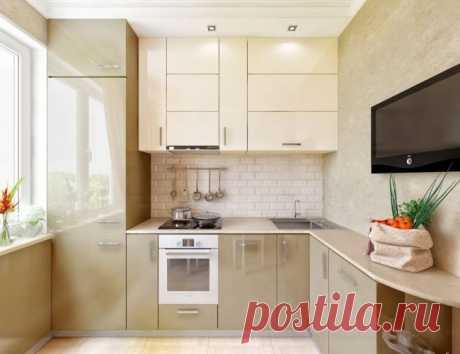 Маленькая кухня: тонкости оформления и 80+ максимально функциональных интерьеров