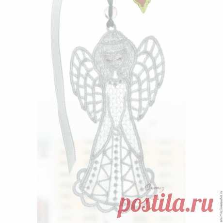 Купить Ангел на счастье воздушный подвеска для мобиля игрушка детская в интернет магазине на Ярмарке Мастеров