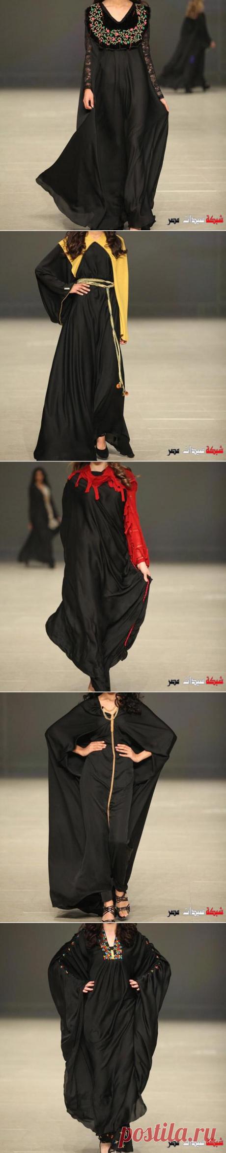عبايات 2020 - عبايات خروج 2020 - عبايات سوداء رقيقة 2020 - Abaya Fashion 2020