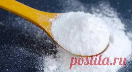 Пищевая сода – отличный союзник в борьбе с множеством проблем со здоровьем! — Мир интересного