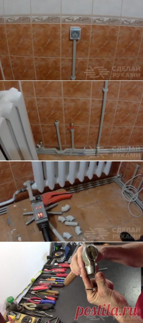 Как установить розетку в ванной, если кафель уже выложен