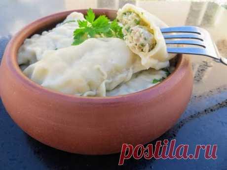 Соседка немка подкинула Еще Один Вкусный Рецепт! Швабские пельмени от Другой Кухни