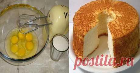 Как испечь бисквит — Чудеса