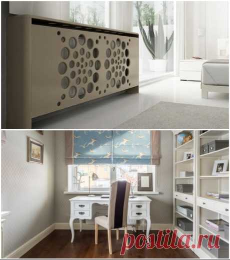 Как спрятать радиаторы отопления, чтобы в доме было и тепло, и красиво