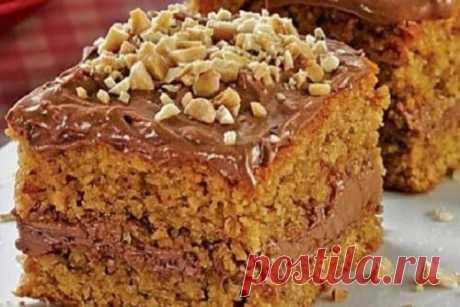 Торт «Мужской идеал». Нереально вкусный