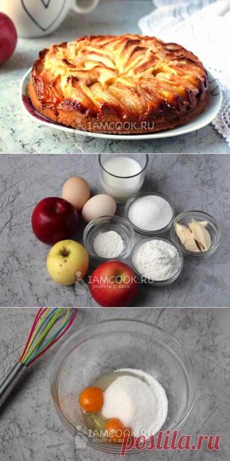 Итальянский деревенский яблочный пирог — рецепт с фото пошагово
