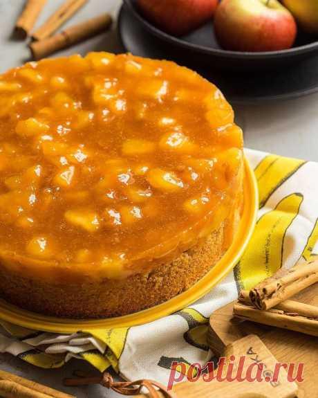 Феноменально простой и фантастически вкусный — пирог с пряностями и фруктами (яблоками)   Andy Chef (Энди Шеф) — блог о еде и путешествиях, пошаговые рецепты, интернет-магазин для кондитеров  