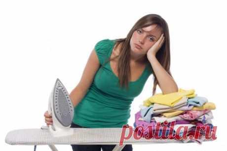 Секрет, который поможет гладить в 2 раза быстрее / Домоседы