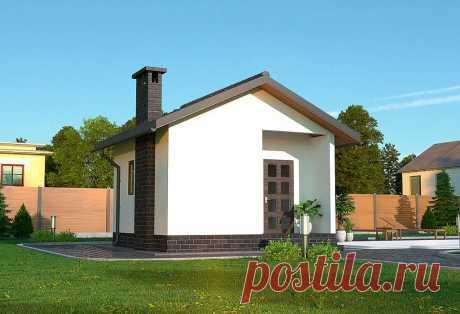 Проект каркасного дома от строительно-производственнаой компании СЕРВУС