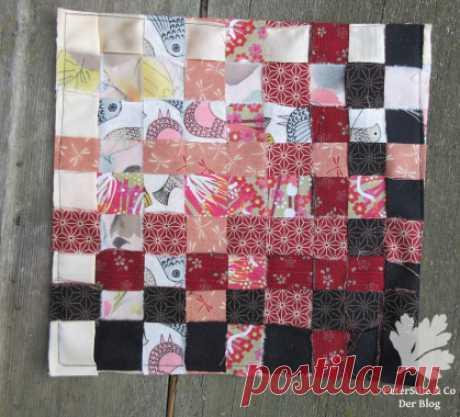 Эксперименты с полосками ткани • Плетение и плетение -