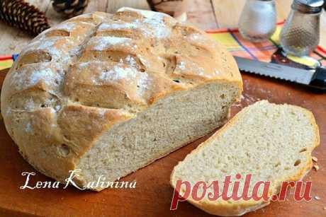Пшенично-ржаной хлеб в духовке от Елены Калининой   Полезные советы домохозяйкам