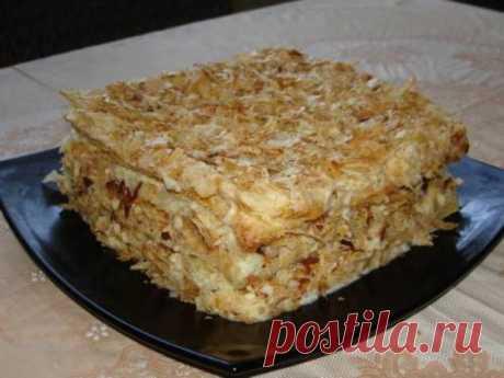 Торт наполеон без ВЫПЕЧКИ. Очень легко, быстро и просто - Простые рецепты Овкусе.ру