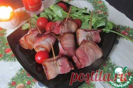"""Закуска из чернослива """"Черти на лошадях"""" – кулинарный рецепт"""