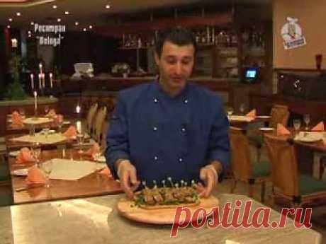 "▶ Закуска ""Селедка с яблоками"" Kulinar24TV - YouTube"