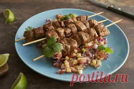 Как приготовить шашлык из свинины в домашних условиях – пошаговый рецепт с фото.